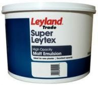 5 Lt Leyland Super Leytex Contract Matt Brilliant White
