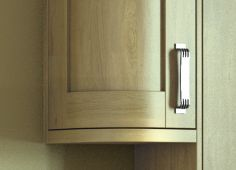 Curved Multi-Purpose Rail for Complete Range of Kitchens from BA Components from Samedeal Ltd