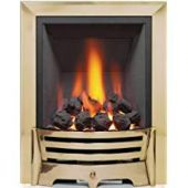 Mayfair Inset Gas Fire - Brass/Coal Slimline