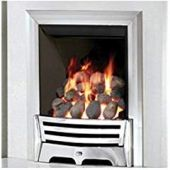 Mayfair Inset Gas Fire - Chrome/Coal Slimline 69086