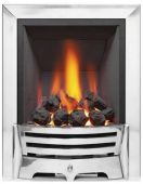 Mayfair Inset Gas Fire - Chrome/Coal Deepline 69094