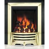 Mayfair Inset Gas Fire - Brass/Coal Deepline