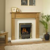 "Valor Colback 47 1/2"" Blenheim Gas Fire Suite"
