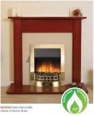 Robinson Willey Rochford Cherry Electric Fire Suite