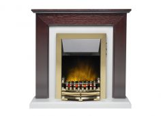 Carlton Electric Fire Suite Mahogany 05050X2